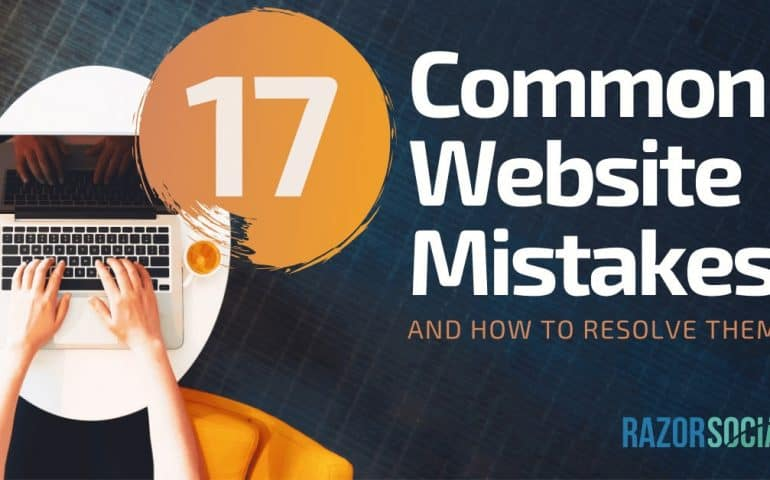 17 common website mistakes and how to resolve them