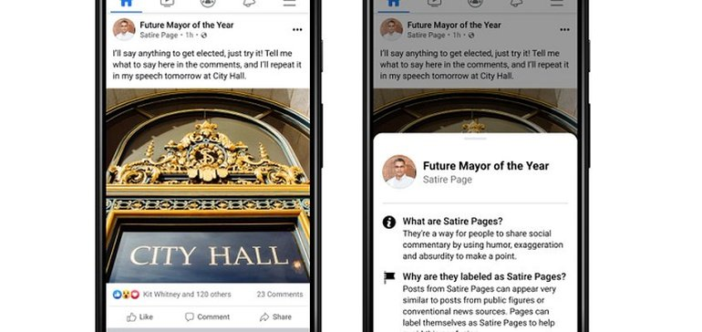 Facebook Tests New Page Labels to Help Provide More Context on Posts