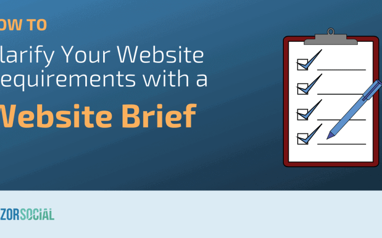 How to Clarify Your Website Requirements with a Website brief